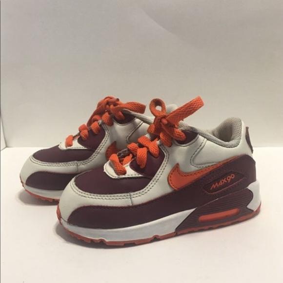 half off 68d3c f1beb Nike Air Max - (Virginia Tech) (Size 7C). M 5aaac60c45b30cba9aafaa72